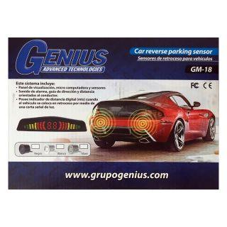 GENIUS Sensor Retroceso GM-18 Blanco